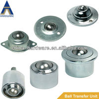 transfer ball unit,transfer bearing,ball caster for cargo handing systerm and material handing equipment