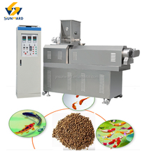Floating fish food feed formula production processing equipment machine