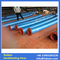 Special abrasion resistant rubber sand blasting pipe, abrasion resistant mud pipe, water suction and drainage hose for Shipyard