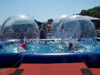Popular sales inflatable water artificial water pool F9036(1)