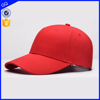 Custom colorful summer hat red color cap hat wholesale large bulk baseball hat