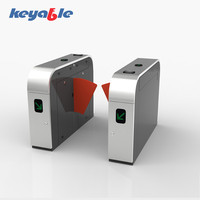 mechanism flap barrier turnstile gate use for school with access control