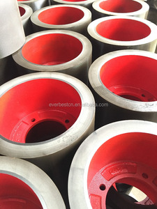 cast iron drum rice huller rubber rollers