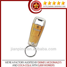 Top selling high quality keyring bottle opener