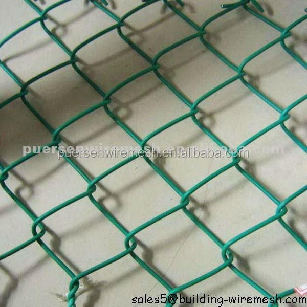 Plastic Chain Link Fence by Puersen