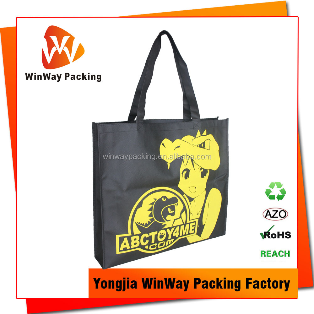 Large Size Reusable Non-Woven Grocery Tote Bag