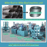 black wire rod to bright bars centerless lathe production line