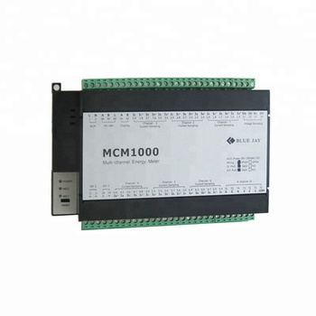 MCM1000 Multi channel meter, 3p4w din rail Power Meter, multi channel energy meter