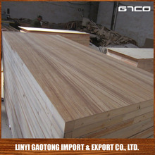 Trade Assurance Interior wood paneling 4X8 from Linyi Gaotong with pine,poplar ,birch keruing veneer