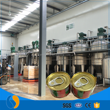 Canned tomato paste processing plant