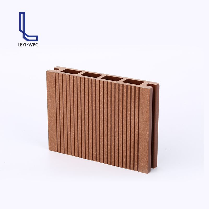 Many colors weather resistance plastic wood composite panel outdoor deck