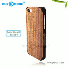 2013 new design bamboo wood case genuine bamboo mobile phone case