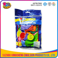 12 inch standard color helium quality party balloon