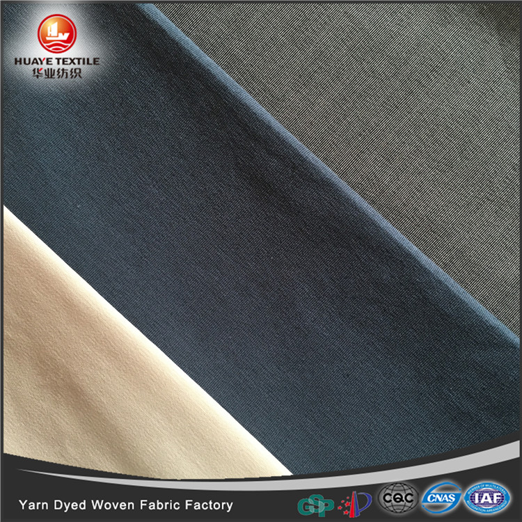 In-stock yarn dyed cotton <strong>poly</strong> woven fabric for fashion shirt