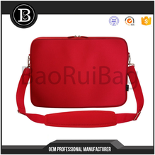 17.3 inch Neoprene Laptop Sleeve Bag Carrying Case with Handle and Adjustable Shoulder Strap