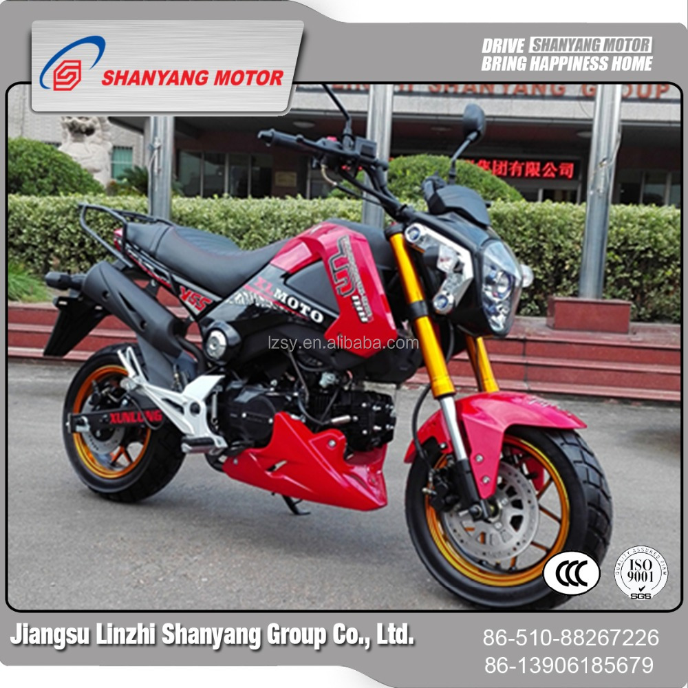 High quality 110cc gas riding motorcycle