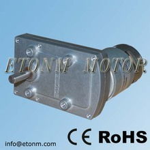 24V 100kg.cm Flat Gearbox Motor DC for Electric Fireplace, High Power DC Motor