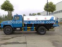 Water Sprayer Tank Truck 6000L/heavy water transport truck/water spray tank truck