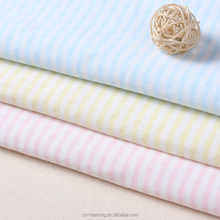 Factory direct baby striped yarn-dyed jacquard underwear knitted fabric