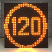Hot Sale OPTRAFFIC P6 P8 P10 P20 P30 P40 P50 Dynamic Message Signs LED Screen, Outdoor LED Screen, Traffic Outdoor LED Screen