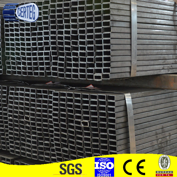 Hot Rolled Galvanized steel/rectangular hollow section weight/carbon steel pipe price