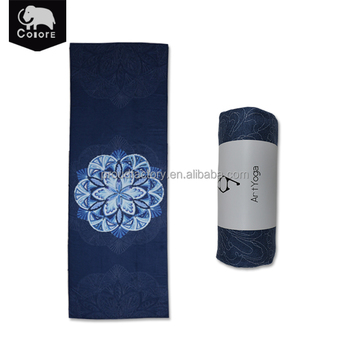 High-grade yoga equipment sweat absorbent bikram yoga mat towel