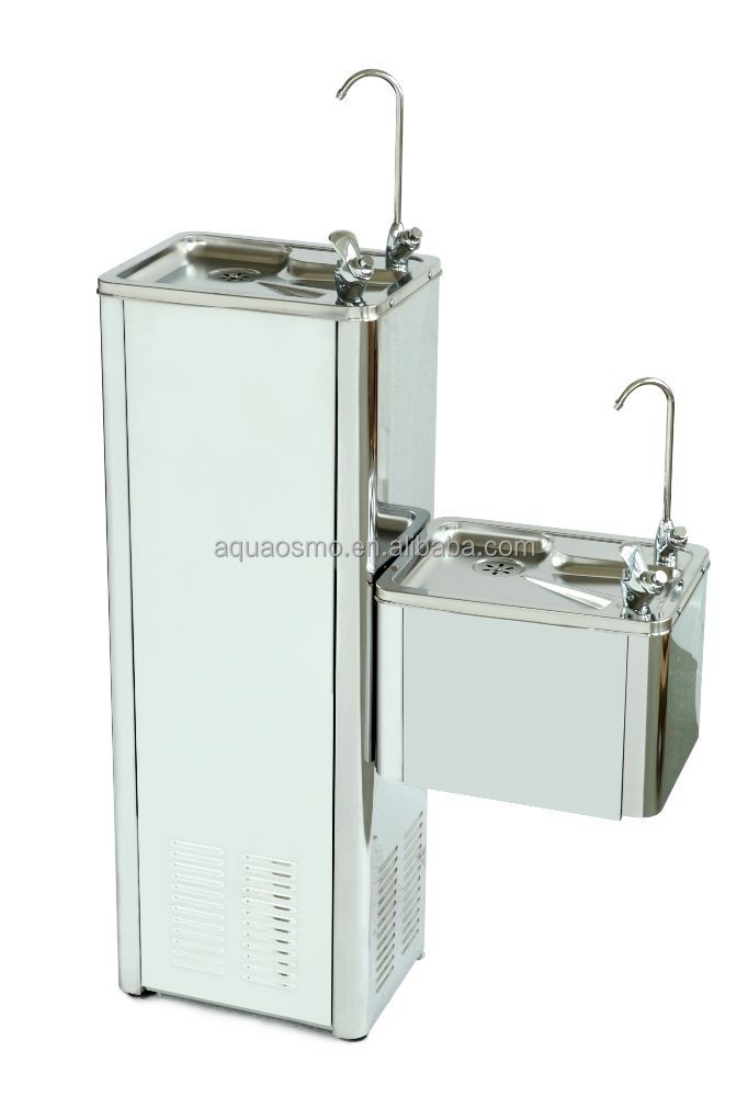 High end upstanding type stainless steel drinking water fountain 600E