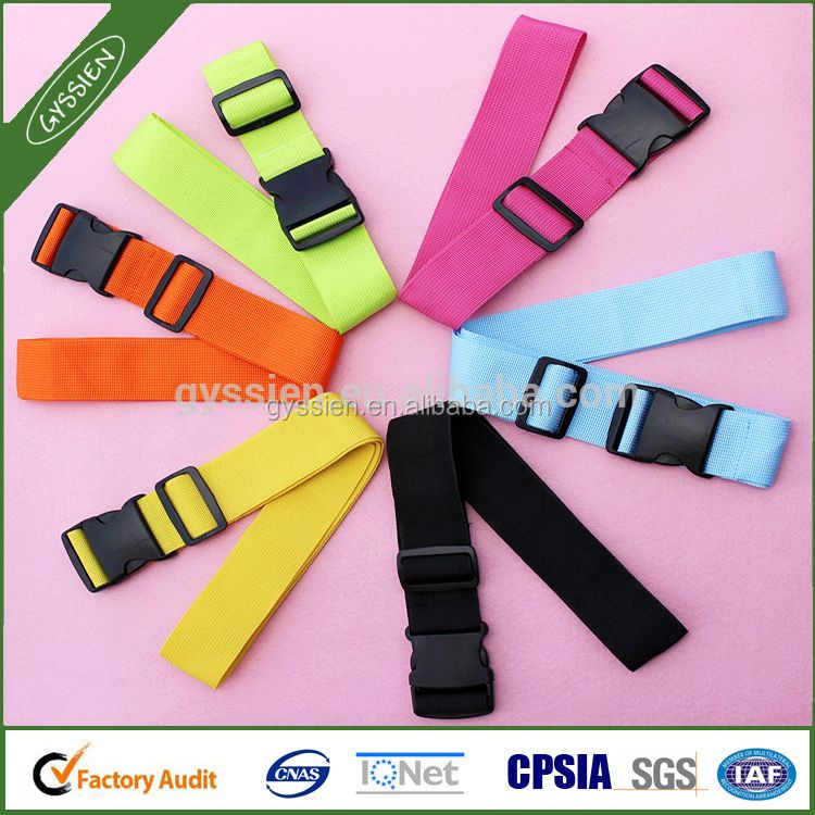 Heavy Duty Adjustable ExtraLong Luggage Cross Strap, Luggage Belt for Safety