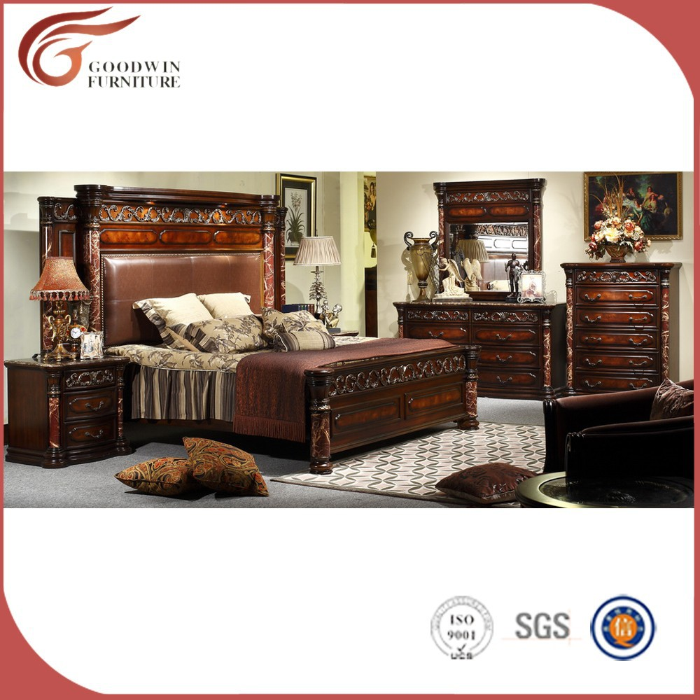 <strong>wood</strong> carving bedroom furniture WA135