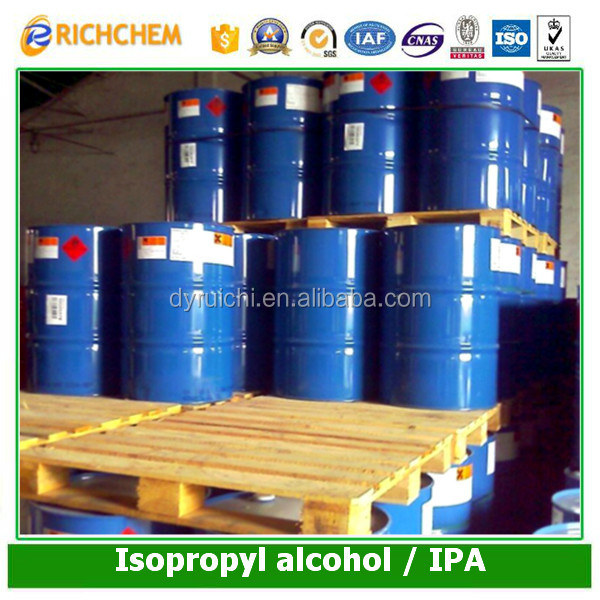 Manufactory price Top Quality Bulk 99.95% Isopropanol / isopropyl alcohol
