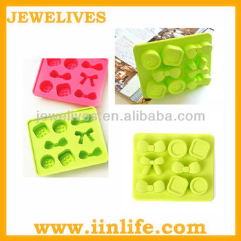 OEM factory cute shapes silicone ice cube tray