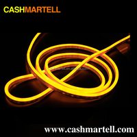 wholesale Waterproof yellow led neon rope light