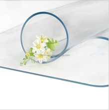Clear PVC Table Cover Transparent Plastic Thick Vinyl Table Cloths