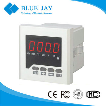 72x72mm BE-72 AV ac led single phase digital voltmeter
