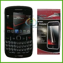 professional 3 layers Cell phone LCD protector shield LCD screen film cover for Blackberry Curve 9300