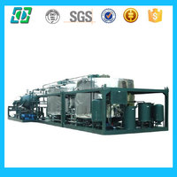 High Efficiency Used Engine Oil Refining Machine(change black to yellow)
