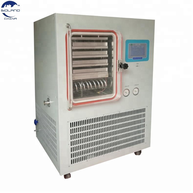 Laboratory Pharmaceutical used Pre-freezing silicon oil heating freeze dryer