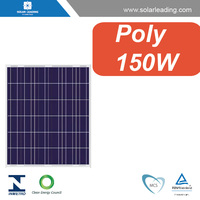 160w poly solar panels with high efficiency