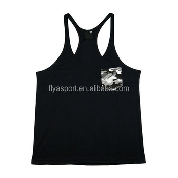 2018 new fashion custom mens Gym muscle singlet