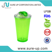 special type light up bright tumbler with straw (MPUT)