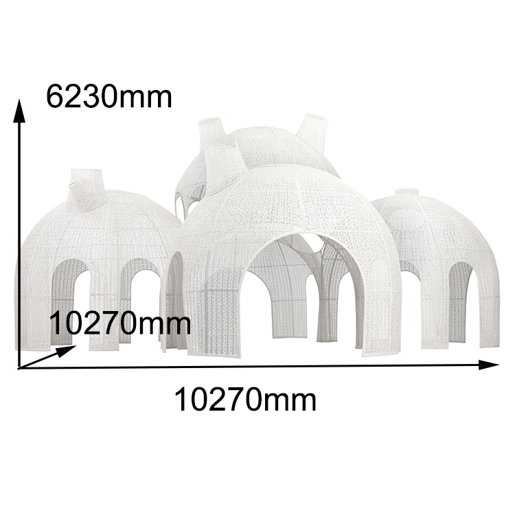 Most Popular Waterproof Outdoor Plastic Wedding Party Tent