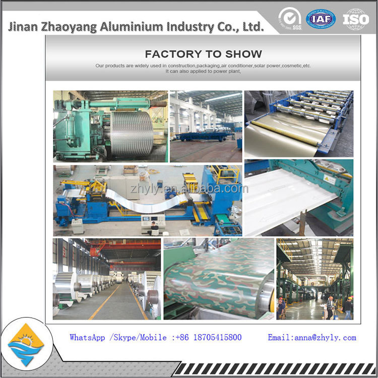 Mill finish aluminum sheet 5052 supply with low aluminum per ton