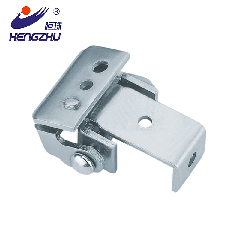 HL007-1 Hengzhu zinc plating steel drawer pulls 90 degree hinge
