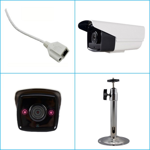 4.0 Megapixel HD P2P ONVIF 50M IR Night Vision waterproof IP Camera
