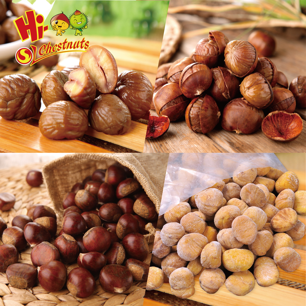 IQF Chestnuts Frozen Chestnut Kernel for sale