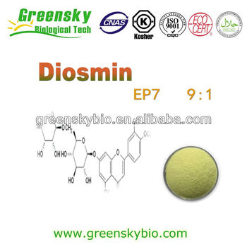EP7 Diosmin and Diosmin Mircro(<5um) with 90-98%HPLC and also 9:1