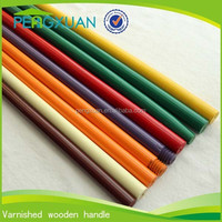 high quality straight varnished wooden sticks export to vietnam ha noi