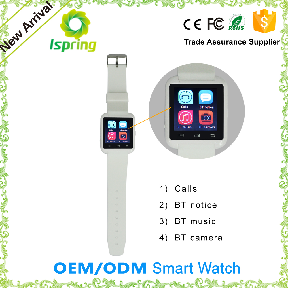 2016 New Smartwatch Bluetooth Smart Watch For Iphone & Samsung Android Phone Relogio Inteligente Reloj A9 Smart Watch