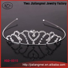 2015 New Design Fashion Wedding rhinestone crystal Tiaras and <strong>crowns</strong> for girls