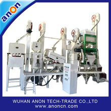 Anon manufacturer concentrate on rice miller 20-30t/d rice mill